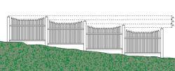 ogrodzenia stałe